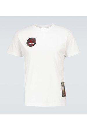 RAF SIMONS Uomo T-shirt a maniche corte - T-shirt in cotone con grafica