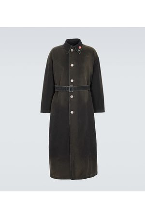 RAF SIMONS Trench in cotone