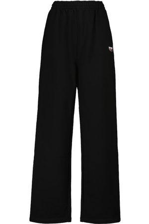 Balenciaga Pantaloni sportivi in cotone con logo