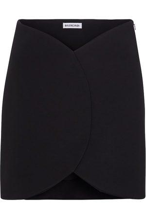 Balenciaga Donna Minigonne - Minigonna in maglia stretch