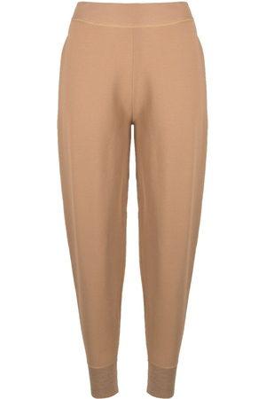 Stella McCartney Pantaloni sportivi a vita alta