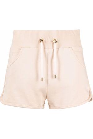 Balmain Shorts sportivi con stampa - Toni neutri