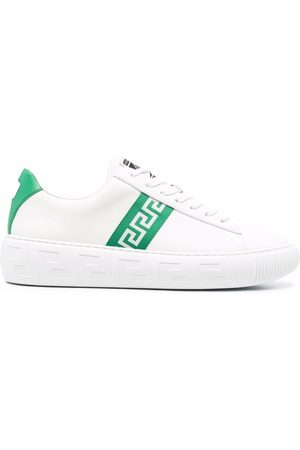 VERSACE Sneakers a righe Greca