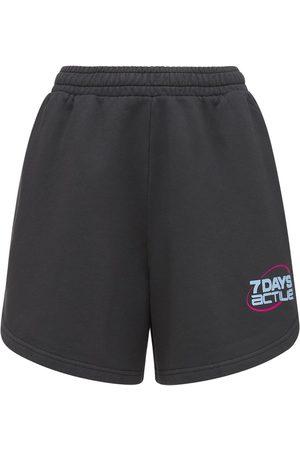 7 DAYS ACTIVE Shorts In Felpa Di Cotone