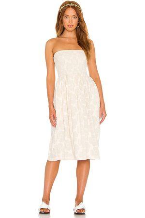 LPA Carolina Dress in - Cream. Size L (also in XXS, XS, S, M, XL).
