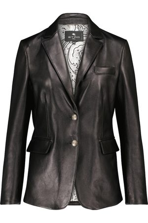 Etro Donna Giacche di pelle - Blazer in pelle