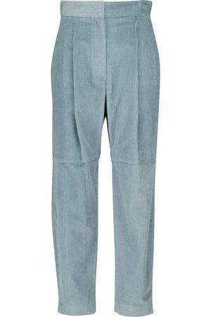 Brunello Cucinelli Donna Pantaloni in velluto a coste