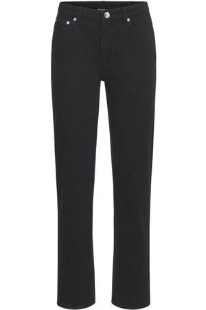 Burberry Donna Straight - Jeans Dritti Feela In Denim Di Cotone