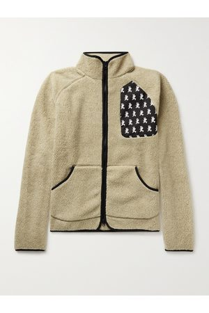 District Vision Uomo Giacche di pile - Greg Shell-Trimmed Fleece Jacket