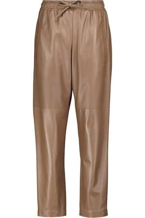 Brunello Cucinelli Pantaloni in pelle