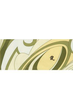 RAF SIMONS Uomo Collo alto - Yellow Printed Turtleneck Collar