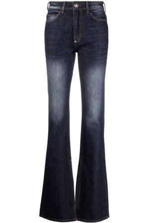 Philipp Plein Jeans svasati a vita alta