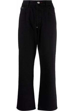 Philipp Plein Donna A zampa & Bootcut - Jeans taglio comodo Iconic Plein