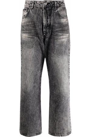 Philipp Plein Donna A zampa & Bootcut - Jeans a gamba ampia Iconic Plein