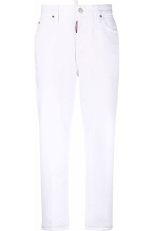 Dsquared2 Donna Straight - Jeans dritti crop