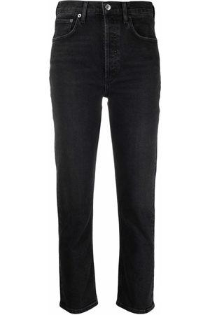 AGOLDE Donna Jeans a vita alta - Jeans dritti a vita alta