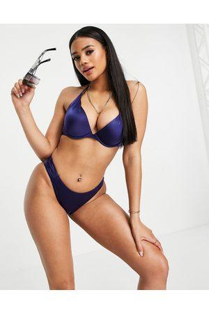 Dorina Jamaica - Slip bikini sgambati navy