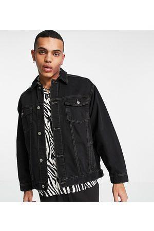 COLLUSION Giacca di jeans nera