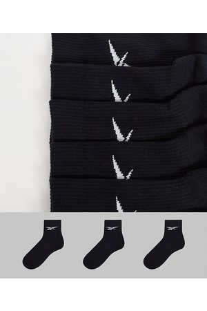Reebok Confezione da 3 paia di calzini neri con logo