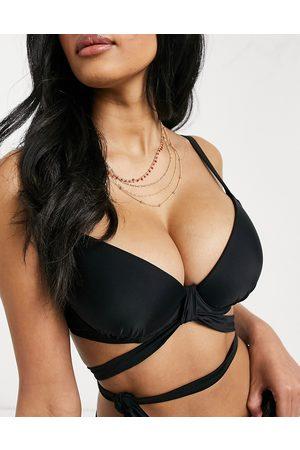 Ivory Rose Coppe Grandi - Top bikini Mix and Match avvolgente