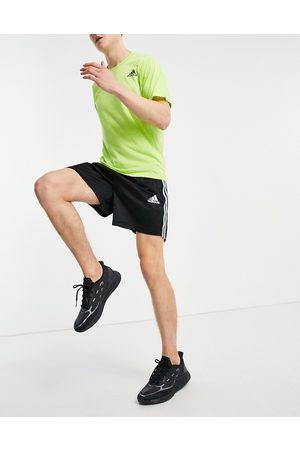 adidas Adidas Training - Pantaloncini neri con 3 strisce