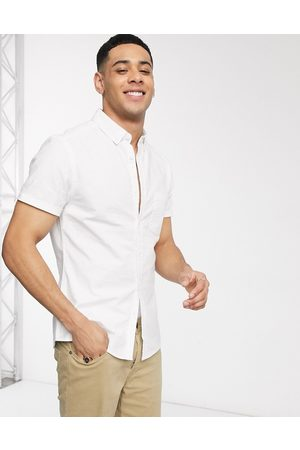 ASOS Camicia Oxford slim bianca