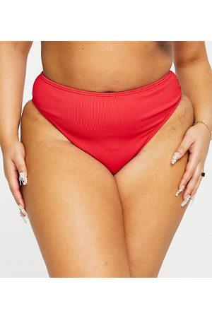 Simply Be Mix and Match - Slip bikini testurizzato