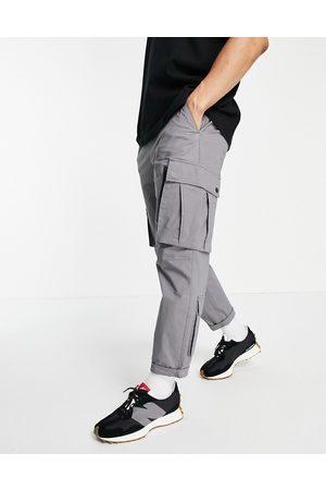 Topman Pantaloni cargo comodi grigi