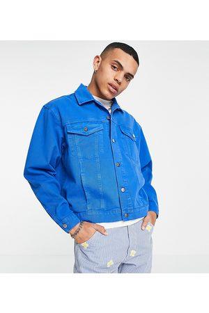 Reclaimed Inspired - Giacca di jeans con lavaggio medio in coordinato