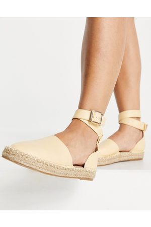 Truffle Collection Espadrilles in due parti gialle