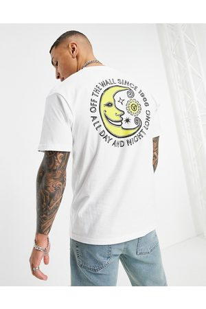 Vans Day and Night - T-shirt a maniche corte bianca