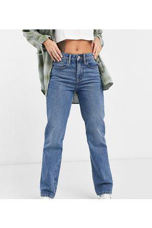 COLLUSION X000 - Jeans unisex dritti anni '90 lavaggio medio