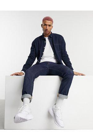 ASOS Camicia giacca di jeans navy