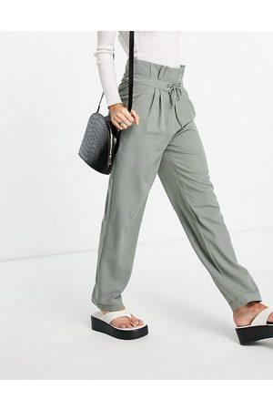 Y.A.S Pantaloni extra larghi sartoriali a vita alta colore