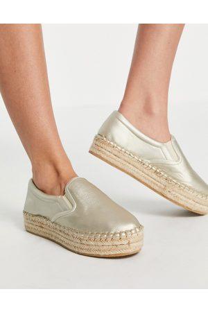 Schuh Madeline - Espadrilles flatform, colore rosa