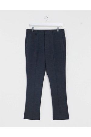 New Look Pantaloni da abito slim corti navy
