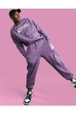 ASOS ASOS - Actual - Joggers comodi con logo stile college, colore
