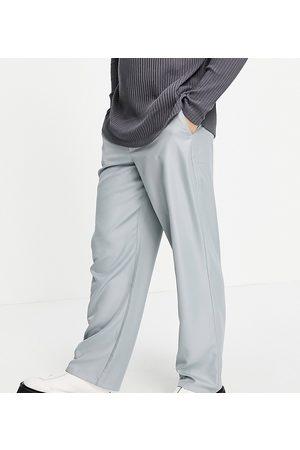 COLLUSION Pantaloni a vita bassa grigi in coordinato