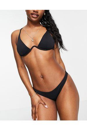 New Look Slip bikini arricciato