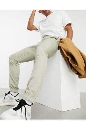 ASOS Joggers skinny eleganti grigio pietra-Neutro