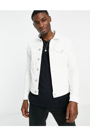 ASOS Giacca di jeans skinny stile western bianca