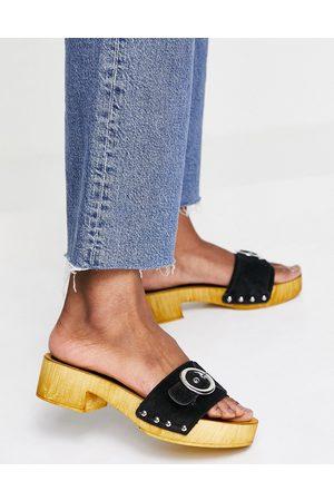 Schuh Vanessa - Sandali stile zoccolo neri