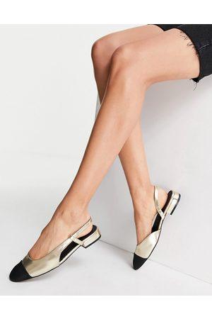 ASOS Donna Ballerine - Lively - Ballerine e nere con cinturino posteriore