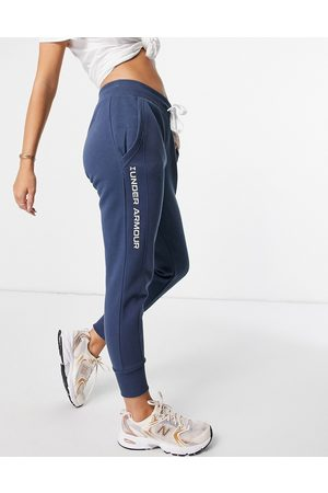Under Armour Donna Joggers - Rival - Joggers in pile ricamati