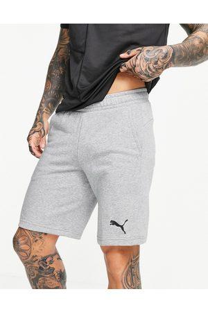 PUMA Essentials - Pantaloncini grigi da 10 pollici con logo