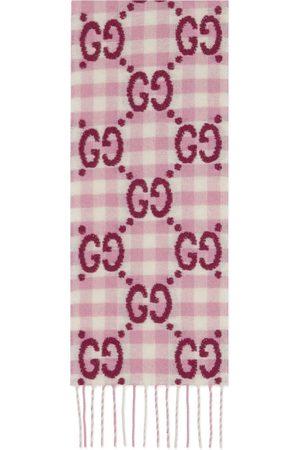 Gucci Bambina Sciarpe - Sciarpa in lana a quadri