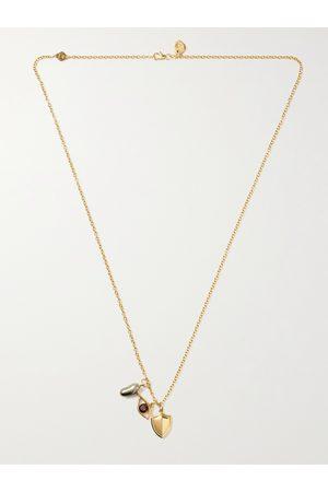 M. COHEN Charmit 18-Karat Multi-Stone Pendant Necklace