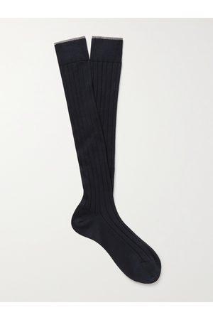 Brunello Cucinelli Ribbed Cotton Socks