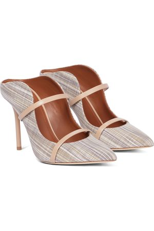 MALONE SOULIERS Mules Maureen 100 in canvas