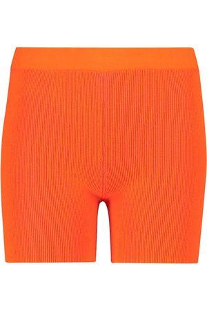 Jacquemus Esclusiva Mytheresa - Shorts Arancia in maglia